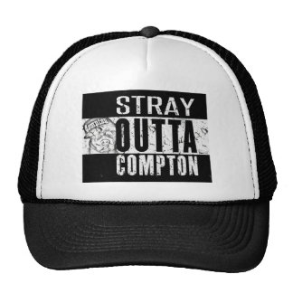 STRAY OUTTA COMPTON TRUCKER HAT