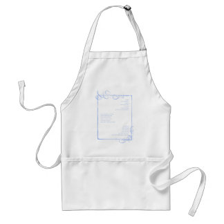 Stray spectacle adult apron
