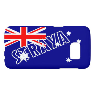 Straya Aussie Flag Samsung Case