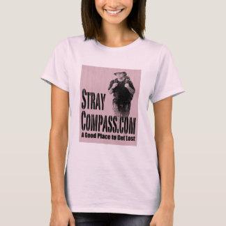 StrayCompass.com Pink on Pink T-Shirt