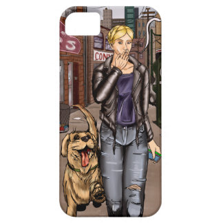 Strays - Taryn and Dog iPhone SE/5/5s Case