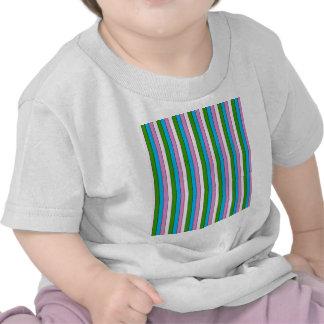 streak cheerful,green tee shirts