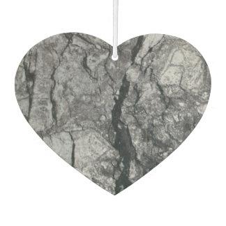 streaked ebony ivory marble stone air freshener
