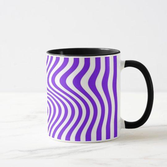 Streaked - Mug - Colour: Mauve