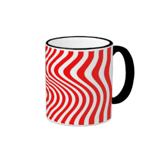 Streaked - Mug - Colour: Red