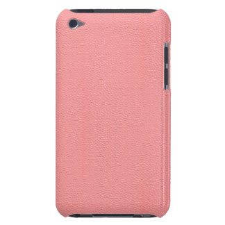 Streaked Pink Leather Grain Look Case-Mate iPod Touch Case