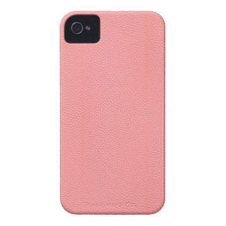 Streaked Pink Leather Grain Look iPhone 4 Cover
