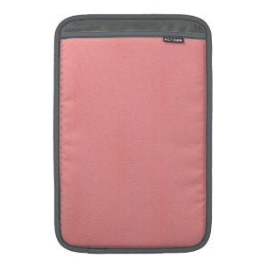 Streaked Pink Leather Grain Look MacBook Sleeves