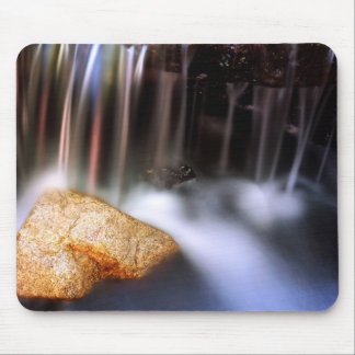 Streaked waterfall mouse pad