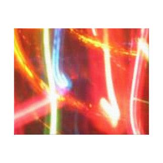 Streaking Light Canvas Print