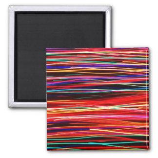 streaking lights fridge magnets