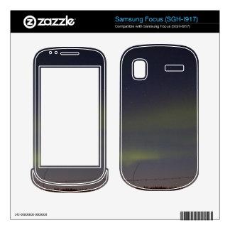 Streaks of Northern Lights Skin For Samsung Focus