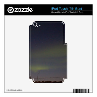 Streaks of Northern Lights Skin For iPod Touch 4G