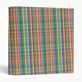 Streaky Fabric 3 Ring Binders