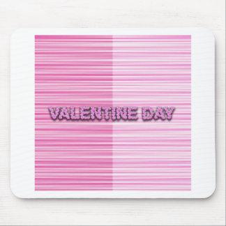 Streaky Valentine Mouse Pad