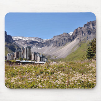 Stream at Tignes in France Mouse Pad