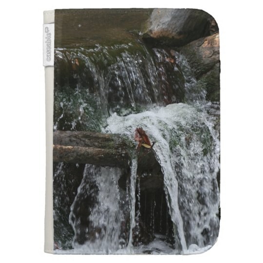 Stream Creek Waterfall Oregon Scenic Photography Case For Kindle
