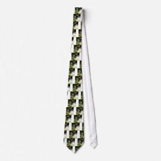 Stream Green Colourful Nature Design Tie