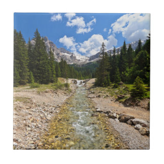 stream in Contrin Valley Ceramic Tile