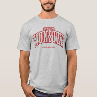 Stream Monster by Official Monster T-Shirt