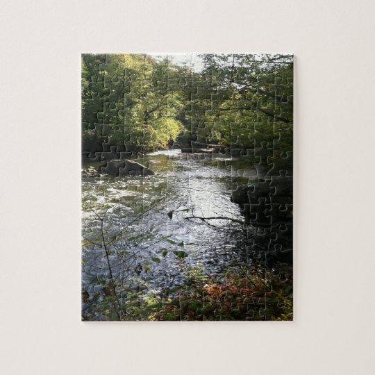 Stream of beauty jigsaw puzzle
