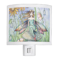 Stream of Magic Fairy Fantasy Art Illustration Nite Lite