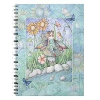 Stream of Magic Flower Fairy Notebook
