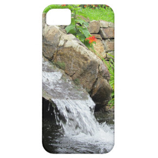Stream of water running over rocks iPhone 5 case