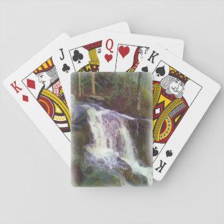 stream oil paint card deck