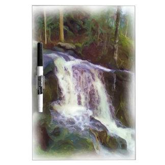 stream oil paint Dry-Erase whiteboards