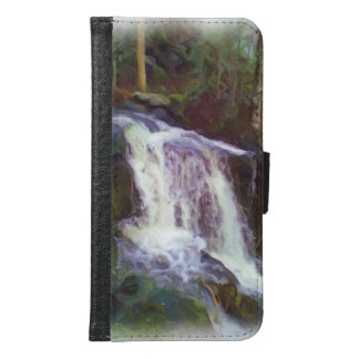 stream oil paint samsung galaxy s6 wallet case