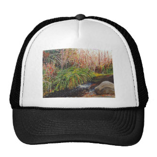 Stream Watercolor Trucker Hat