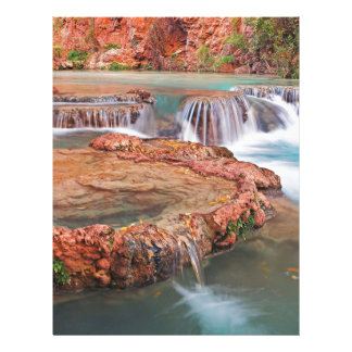 Stream Waterfalls Letterhead