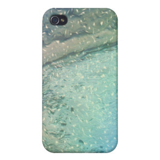 Stream with Falling Snow iPhone 4 Case