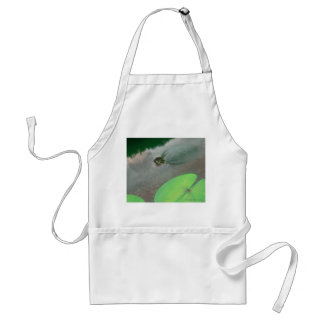 Stream with Turtles and Fish Adult Apron