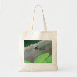 Stream with Turtles and Fish Tote Bag