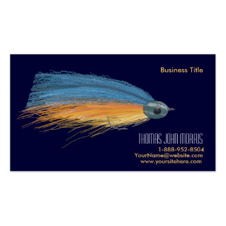 Streamer fishing Lure Business Card