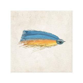 Streamer Lure Art Canvas Print