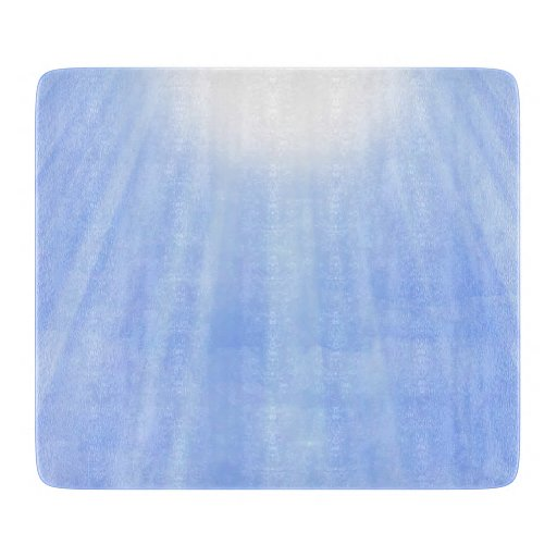 Streaming Sunlight Through the Clouds Cutting Board