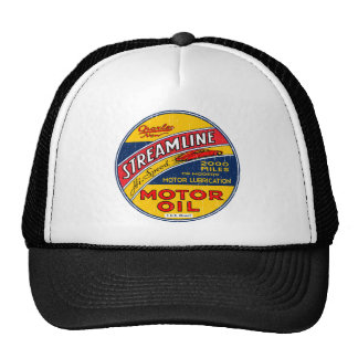 Streamline Motor Oil Trucker Hat
