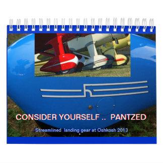 Streamlined Aircraft Wheels 2013 calendar