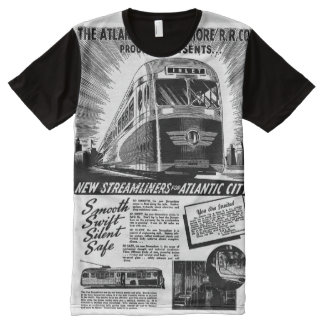 Streamliners For Atlantic City 1941 All-Over-Print T-Shirt