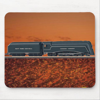 Streamlines Steam Locomotive J-2 Mousepad