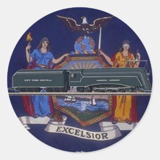 Streamlines Steam Locomotive J-2 Sticker