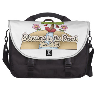 Streams in the Desert (Isa. 35:6) Commuter Bags