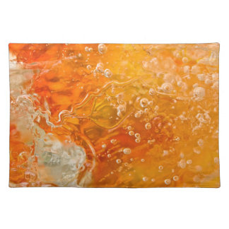 Streams of Consciousness Abstract Placemat Cloth Placemat