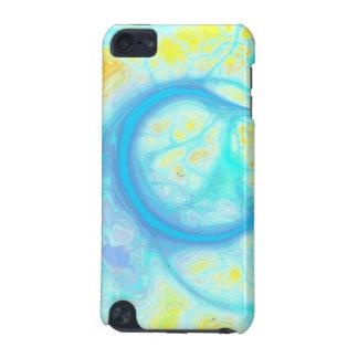 Streams of Joy – Cosmic Aqua & Lemon iPod Touch 5G Covers