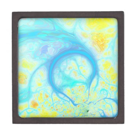 Streams of Joy – Cosmic Aqua & Lemon Gift Box