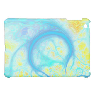 Streams of Joy – Cosmic Aqua & Lemon Case For The iPad Mini