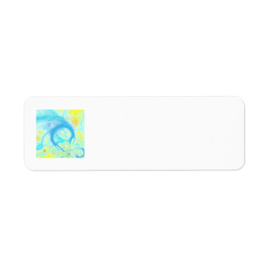 Streams of Joy – Cosmic Aqua & Lemon Label